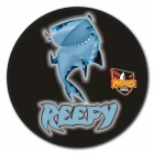 2010 Cronulla Sutherland Sharks NRL Mascot SS Button Badge