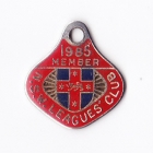 1985 NSW Leagues Club Member Badge