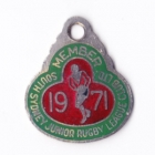 1971 South Sydney Juniors Leagues Club Member Badge