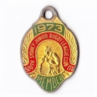 1973 South Sydney Juniors Leagues Club Member Badge
