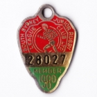 1980 South Sydney Juniors Leagues Club Member Badge