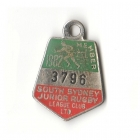 1982 South Sydney Juniors Leagues Club Member Badge