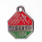 1984 South Sydney Juniors Leagues Club Member Badge