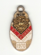1970 St George Leagues Club Member Badge