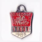 1985 St George Leagues Club Member Badge