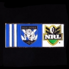 2010 Canterbury Bankstown Bulldogs NRL Away Pin Badge
