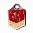 1990 St George Leagues Club Member Badge