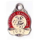 1992 St George Leagues Club Member Badge