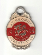 1994 St George Leagues Club Member Badge
