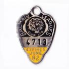 1981-82 Balmain Leagues Club Member Badge