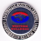 2007 Western Bulldogs AFL Medallion