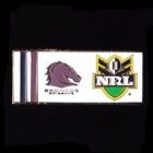 2010 Brisbane Broncos NRL Away Pin Badge
