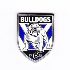 2010 Canterbury Bankstown Bulldogs NRL Logo Trofe Pin Badge