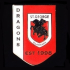 2011 St George Illawarra Dragons NRL Year Established Away Pin Badge