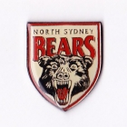 1998 North Sydney Bears NRL AJ Parkes Pin Badge