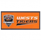 2010 Wests Tigers NRL Member Sticker