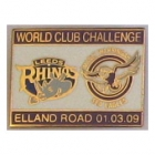 2009 WCC Sea Eagles v Leeds Pin Badge dn2