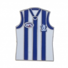 2011 North Melbourne Kangaroos AFL Jersey Trofe Pin Badge