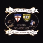 2009 RL Four Nations Pin Badge n