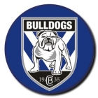 2010 Canterbury Bankstown Bulldogs NRL Logo SS Button Badge