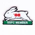 2008 South Sydney Rabbitohs NRL Member Pin Badge