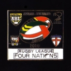 2010 RL Four Nations Pin Badge n