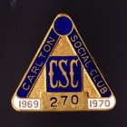 1969-70 Carlton Blues VFL Member Pin Badge