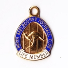 1970s North Melbourne Kangaroos VFL Life Member Badge