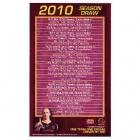 2010 Brisbane Broncos NRL Season Draw Magnet