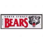 1990s North Sydney Bears NSWRL Sticker