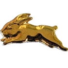 1995 South Sydney Rabbitohs ARL Mascot Bensons Pin Badge