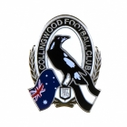 2011 Collingwood Magpies AFL Logo Trofe Pin Badge