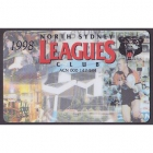 1998 North Sydney Leagues Club Member Card