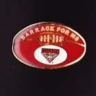 1990s Essendon Bombers AFL Barrack for MS Pin Badge