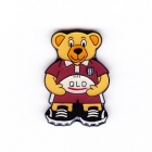 2005 QLD State of Origin Bear Pin Badge