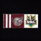 2010 Manly Warringah Sea Eagles NRL Home Pin Badge