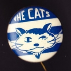 1960s Geelong Cats VFL The Cats Small Button Badge