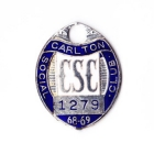 1968-69 Carlton Blues VFL Member Badge