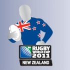 2011 New Zealand RWC Flag Pin Badge
