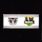 2010 New Zealand Warriors NRL Away Pin Badge