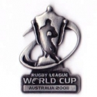 2008 RLWC Logo Trofe Pin Badge