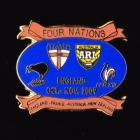 2009 RL Four Nations Pin Badge f
