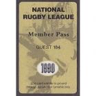 1998 NRL Member Pass Guest No 184