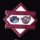 2012 WCC Sea Eagles v Leeds Pin Badge bn2