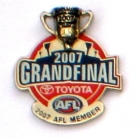 2007 AFL Grand Final Member Pin Badge