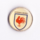 1994 Eastern Suburbs Roosters NSWRL Silver Butterfly Pin Badge
