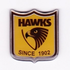 2009 Hawthorn Hawks AFL LE Pin Badge