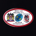 2011 WCC Dragons v Wigan Pin Badge cn1