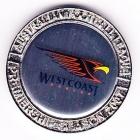 2007 West Coast Eagles AFL Medallion