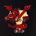 1984 St George Dragons NSWRL Mascot Perfection Pin Badge